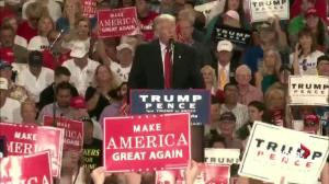 Trumps says 'stop and frisk' is constitutional; says Lester Holt argued with him, took up time