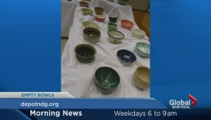 Empty bowls for the NDG food depot