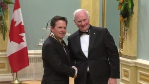 Actor Michael J. Fox receives Lifetime Artistic Achievement Award
