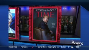 Donald Trump named Time's Person of the Year
