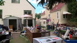 McKernan residents want month-long yard sale removed