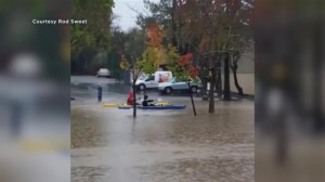 Powerful rain storm hits Northern California