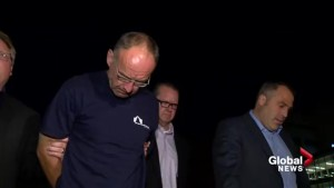 Douglas Garland in Edmonton hospital after jailhouse beating
