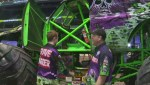 Global's Timm Bruch gets the chance to get behind the wheel of the legendary Grave Digger