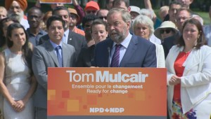 Thomas Mulcair says Harper can't get pipeline projects built because of lack of trust on the environment