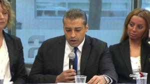 Mohamed Fahmy calls on Egyptian government to respect freedom of the press