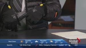 Testing New Winter Jacket Technology; Corey Ginther, Ravean