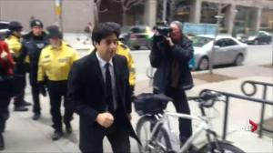 Jian Ghomeshi arrives for second day of trial