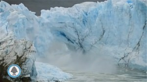 WATCH: Glacier ice bridge crumbles in Argentina