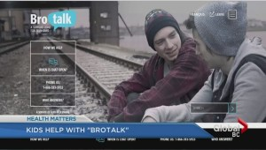 'BroTalk' launches to help troubled teenage boys