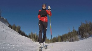 Former wrestler finds new passion on skis after injury took use of right arm