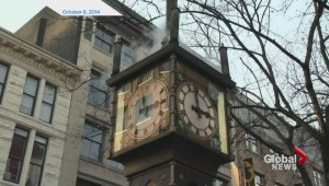 Gastown steam clock returns after repair