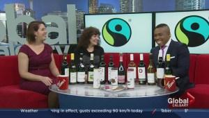 "Making Calgary a ""Fair Trade Town""; Erin Bird of Fair Trade Calgary, and Linda Garson, Editor-in-Chief of Culinaire Magazine"