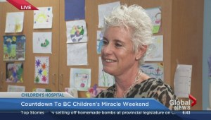 Countdown to B.C. Children's Miracle Weekend