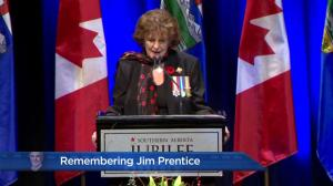 Remembering Jim Prentice: Lieutenant Governor of Alberta Lois Mitchell