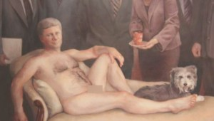 Interview with new owner of nude Stephen Harper painting