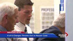 Several charges thrown out in Colby Messer case