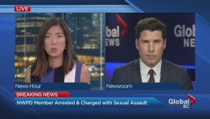 New Westminster Police officer charged