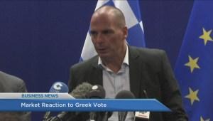 BIV: Market reaction to Greek vote