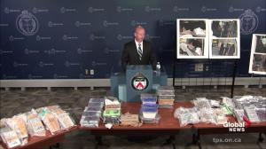 Police not sure if drugs in  'Project Polar' bust laced with fentanyl