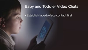 Skype/FaceTime: Benefits to young kids staying connected?