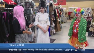 Halloween costume options on a budget