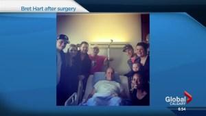 WWE legend Bret Hart helps raise prostate cancer awareness