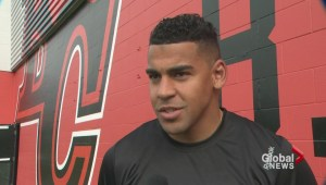 Andrew Harris becomes Team Shaw's BC Lions rep