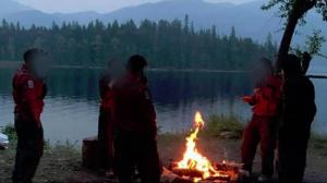 Photos of B.C. firefighters ignoring campfire ban posted online