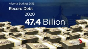Alberta's NDP government tables first budget