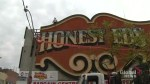 Iconic Honest Ed's sign removed in downtown Toronto