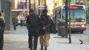 Man stabs several people at random in downtown Toronto