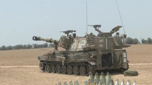 Israeli troops remain on high alert near border with Gaza