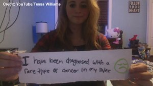 Teenager with cancer wants to promote organ donation