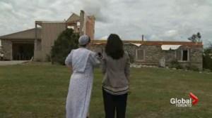 Community springs into action in tornado-ravaged zone near Orangeville