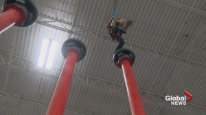 Calgarian tackles awesome obstacles of Olympic proportions