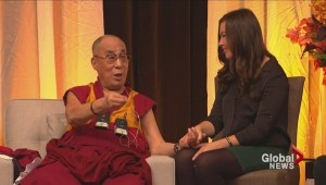 A visit from the Dalai Lama