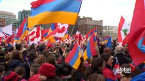 Armenians mark 100th anniversary of 1915 'genocide'