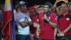 Philippines' president-elect turning heads around the world