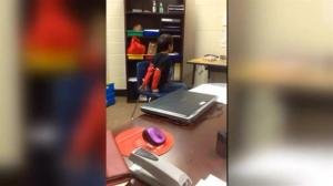 ACLU files suit after video emerges of two children being shackled by police