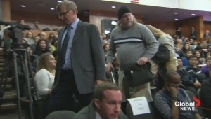 Heckler removed from mayoral debate after yelling at Chow and Tory