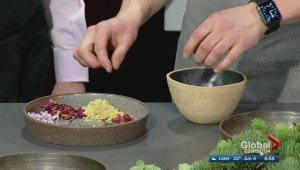 In the Global Edmonton kitchen with Alder Room