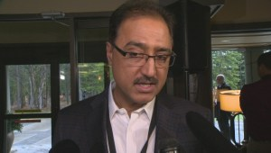 Minister Sohi reacts to Notley's plea for a pipeline