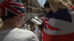 Royal Baby fans already gathering outside hospital