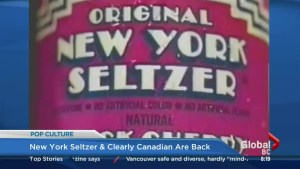 Pop culture: New York Seltzer is back!