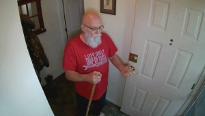 Elderly homeowner turns tables on would-be thief