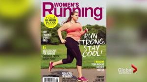 """Plus-size runner on fitness magazine cover reignites """"fat vs fit"""" debate"""