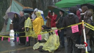 Protester risk more arrests on Burnaby Mountain