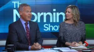 Global News anchor Leslie Roberts suspended