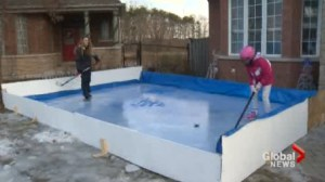 Family's winter tradition found to be in violation of city by-laws